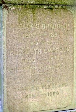 Elizabeth <I>Emerson</I> Bradbury