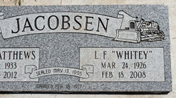 "Loraine Fielding ""Whitey"" Jacobsen"