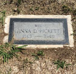 Anna <I>Dungan</I> Pickett