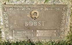 Wayne Clifford Bobst