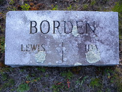 Lewis Borden