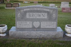Dorothy M. <I>McCarter</I> Brown