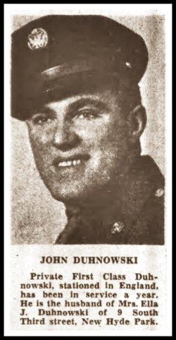 John E Duhnoski