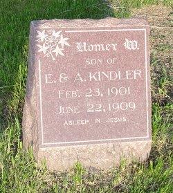 Homer W Kindler