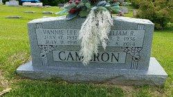 Vannie Lee <I>Robinson</I> Cameron