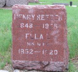Ella L. <I>Hawke</I> Reeder