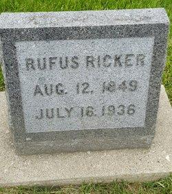 Rufus Ricker