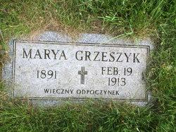 Mary <I>Liszaj</I> Grzeszyk