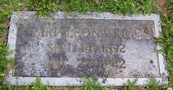 Pearl Leona <I>Boley</I> Riggs