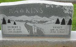 Violet <I>McGuire</I> Hawkins