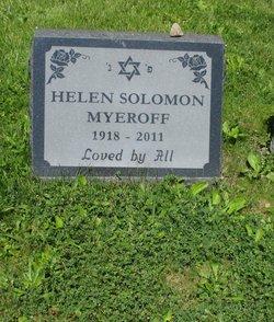 Helen <I>Solomon</I> Myeroff