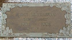 Minnie <I>Bailey</I> Leatherwood