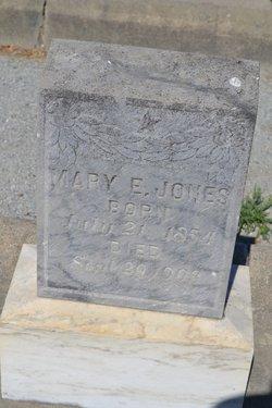 Mary E. <I>White</I> Jones