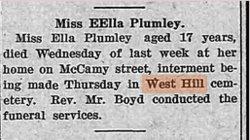 Ella Plumley