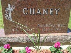 "Minerva ""Peg"" <I>Parker</I> Chaney"