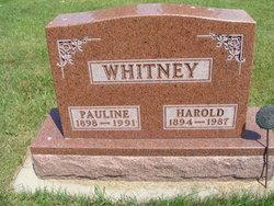 Harold R Whitney
