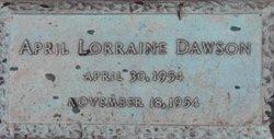 April Loraine Dawson