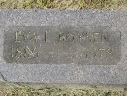 Eva Louise <I>Busch</I> Boysen