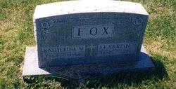 "Katherine Melvina ""Kate"" <I>Riney</I> Fox"