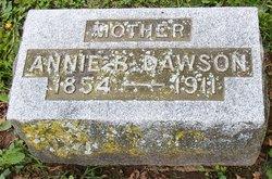 """Anna B """"Annie"""" <I>Kirchener</I> Dawson"""
