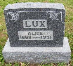 Alice <I>Kelly</I> Lux