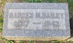 Barden M. Bailey