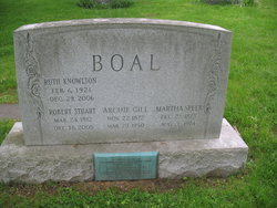 Archibald Gill Boal