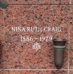 Nina Ruth Craig
