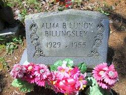 Alma B <I>Lundy</I> Billingsley