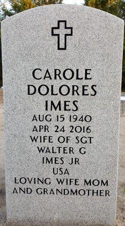 Carole Dolores <I>Kovatch</I> Imes