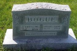 """Josiah Morris """"Cyrus"""" Bogue"""