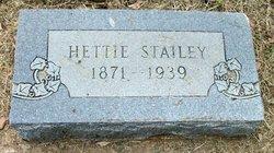 Hettie E <I>Taylor</I> Stailey
