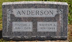 Flossie Jane <I>Lathrop</I> Anderson