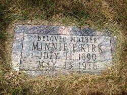 Minnie Elizabeth <I>Kane</I> Kirk