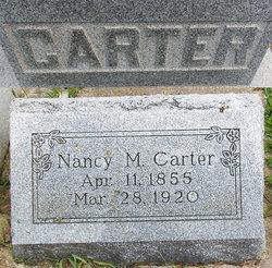 Nancy Maria <I>Talbert</I> Carter