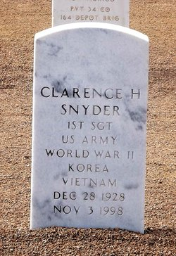 Clarence H Snyder