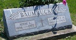 Mrs Addie Laura <I>Mudd</I> Baumrucker