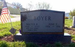 Walter R Boyer