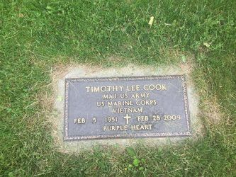 Maj Timothy L. Cook