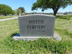 Boyette Family Cemetery