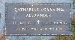 Catherine Lorraine <I>Ruhling</I> Alexander