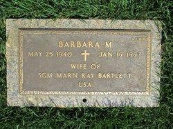 Barbara M Bartlett