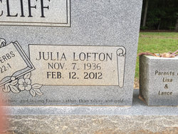 Julia Mae <I>Lofton</I> Ratcliff