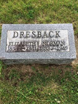 "Mary Elizabeth ""Elizabeth"" <I>Hoffman</I> Dresback"