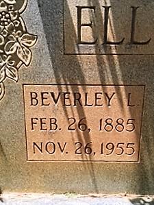 Beverley Lankston Elliott