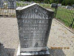 Mary Isabel Goethe
