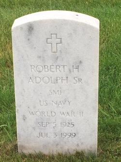 Robert H Adolph, Sr