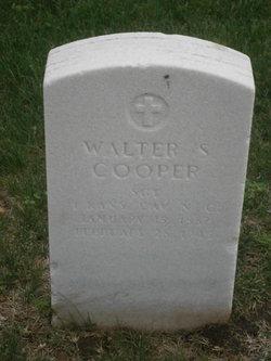 Walter S Cooper