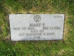 Mary F Dahl