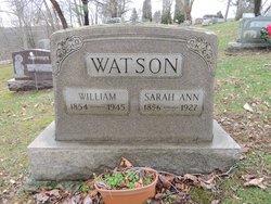 Sarah Ann Watson